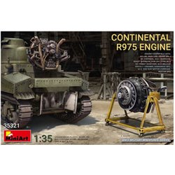 MINIART 35321 1/35 Continental R975 Engine