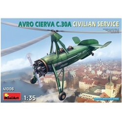 MINIART 41006 1/35 Avro Cierva C.30A Civilian Service