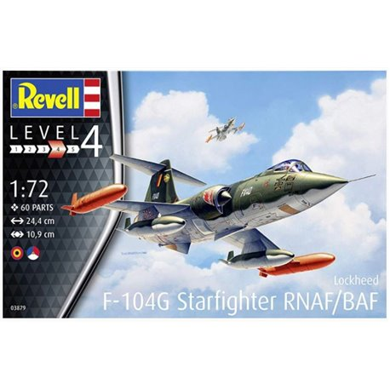 REVELL 03879 1/72 F-104 G Starfighter NL/B