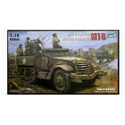 TRUMPETER 00911 1/16 M16 Multiple Gun