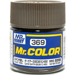 GUNZE C369 Mr. Color (10 ml) Dark Earth BS381C/450