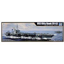 TRUMPETER 06714 1/700 USS Kitty Hawk CV-63