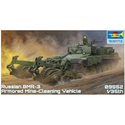 TRUMPETER 09552 1/35 Russian Armored Mine-Clearing Vehicle BMR-3