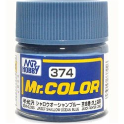 GUNZE C374 Mr. Color (10 ml) JASDF Shallow Ocean Blue
