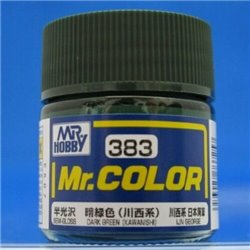 GUNZE C383 Mr. Color (10 ml) Dark Green (Kawanishi)