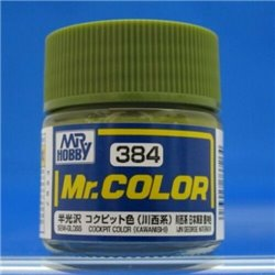 GUNZE C384 Mr. Color (10 ml) Cockpit Color (Kawanishi)