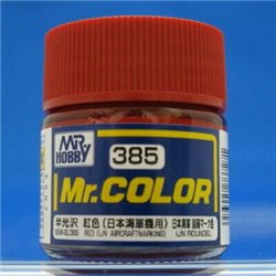 GUNZE C385 Mr. Color (10 ml) Red (IJN Aircraft Marking)