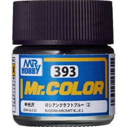 GUNZE C393 Mr. Color (10 ml) Russian Aircraft Blue II