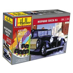 HELLER 56704 1/24 Hispano Suiza K6 (m. accessories)