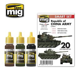 AMMO BY MIG A.MIG-7172 M48H RoCA (REPUBLIC OF CHINA ARMY) 3x17ml