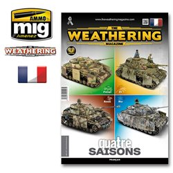 AMMO BY MIG A.MIG-4277 The Weathering Magazine Numéro 28 4 saisons FR
