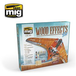 AMMO BY MIG A.MIG-7801 WOOD EFFECTS SET