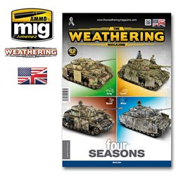 AMMO BY MIG A.MIG-4527 The Weathering Magazine Issue 28: FOUR SEASONS (English)