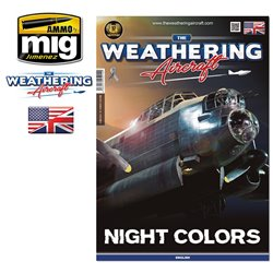 AMMO BY MIG A.MIG-5214 The Weathering Aircraft Issue 14. NIGHT COLORS (English)