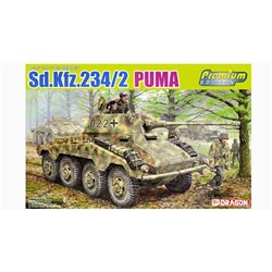 DRAGON 6943 1/35 Sd.Kfz.234/2 Puma Premium Edition