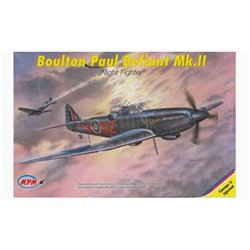 "MPM 72519 1/72 Boulton Paul Defiant Mk.II ""Night Fighter"""