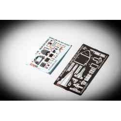 EDUARD XF505 1/48 Masks Circle 16+10mm