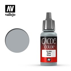 VALLEJO 72.052 Game Color Silver Metallic 17 ml.