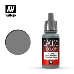 VALLEJO 72.053 Game Color Chainmail Silver Metallic 17 ml.