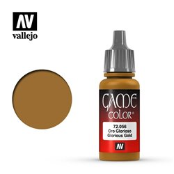 VALLEJO 72.056 Game Color Glorious Gold Metallic 17 ml.