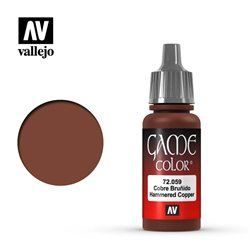 VALLEJO 72.059 Game Color Hammered Copper Metallic 17 ml.