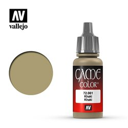 VALLEJO 72.061 Game Color Khaki Color 17 ml.