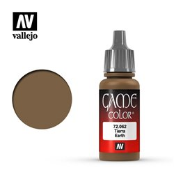 VALLEJO 72.062 Game Color Earth Color 17 ml.