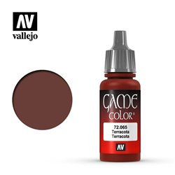 VALLEJO 72.065 Game Color Terracotta Color 17 ml.