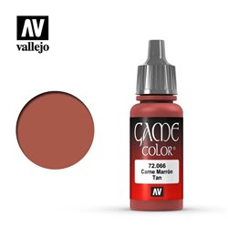 VALLEJO 72.066 Game Color Tan Color 17 ml.