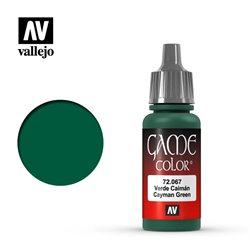 VALLEJO 72.067 Game Color Cayman Green Color 17 ml.