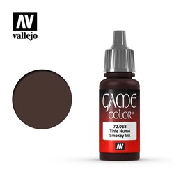 VALLEJO 72.068 Game Color Smokey Ink Ink 17 ml.