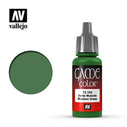 VALLEJO 72.105 Game Color Mutation Green Color 17 ml.