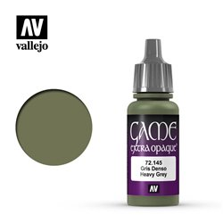 VALLEJO 72.145 Game Color Heavy Grey Extra Opaque 17 ml.