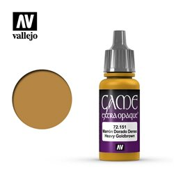 VALLEJO 72.151 Game Color Heavy Goldbrown Extra Opaque 17 ml.
