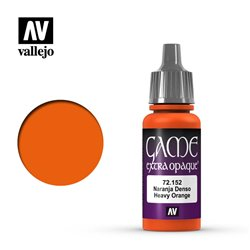 VALLEJO 72.152 Game Color Heavy Orange Extra Opaque 17 ml.