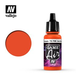 VALLEJO 72.709 Game Air Hot Orange Color 17 ml.