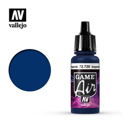 VALLEJO 72.720 Game Air Imperial Blue Color 17 ml.