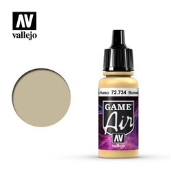 VALLEJO 72.734 Game Air Bonewhite Color 17 ml.