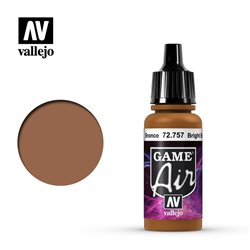 VALLEJO 72.757 Game Air Bright Bronze Metallics 17 ml.