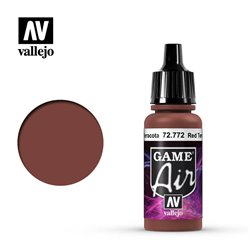 VALLEJO 72.772 Game Air Red Terracotta Color 17 ml.