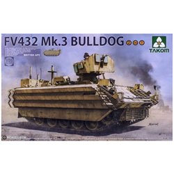 TAKOM 2067 1/35 British APC FV432 Mk.3 Bulldog 2 in 1*