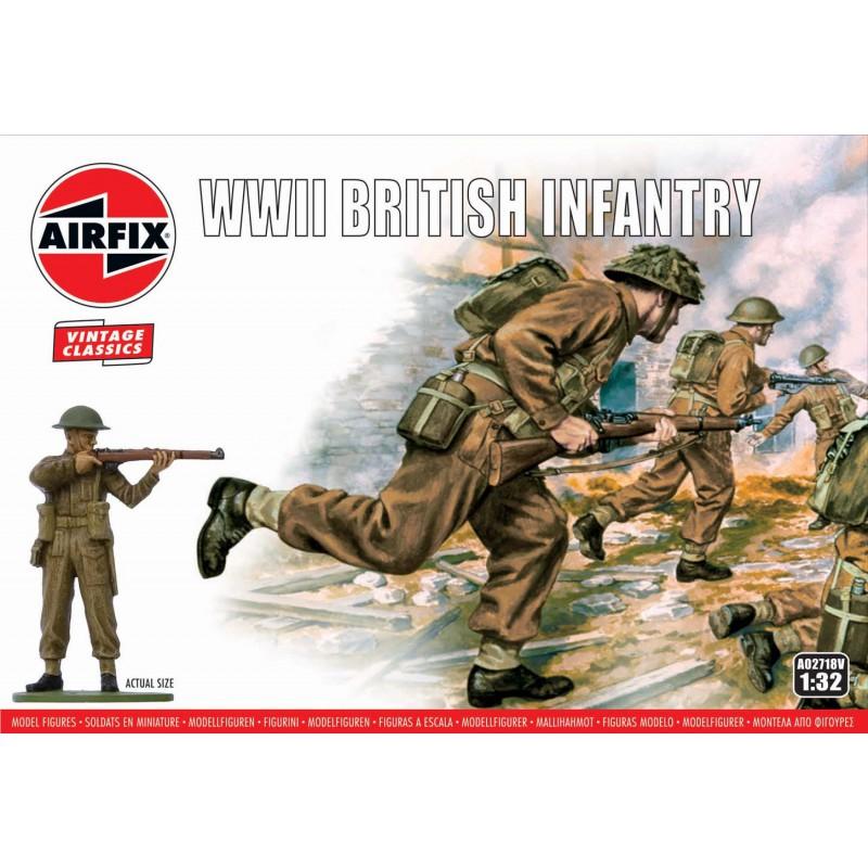 AIRFIX J6022 Quickbuild Challenger Tank -Green