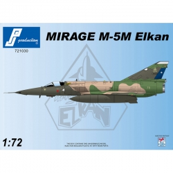 PJ PRODUCTION 721030 1/72 MIRAGE M-5M ELKAN