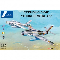 PJ PRODUCTION 721032 1/72 REPUBLIC F-84F THUNDERSTREAK