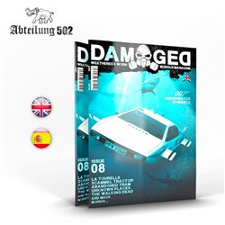 ABTEILUNG ABT728 Damaged Magazine Issue 8 Anglais