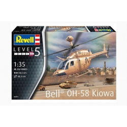 REVELL 03871 1/35 Bell OH-58 Kiowa