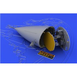 EDUARD 648032 1/48 F-16 radar early For Tamiya