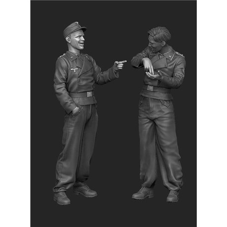 PANZER ART FI35-077 1/35 German tankers telling joke set