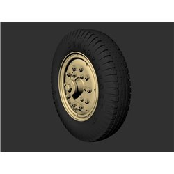 PANZER ART RE35-593 1/35 Rolls-Royce AC Road wheels (Dunlop)
