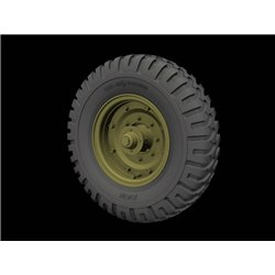 PANZER ART RE35-611 1/35 Fordson WOT 6 Road wheels (AVON)